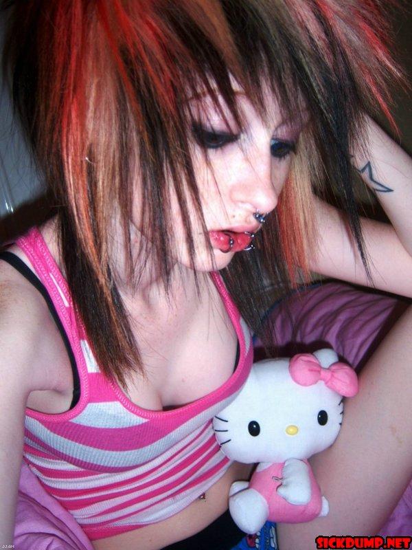Teen with dildo porn