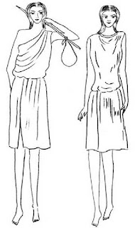 Chiton yaitu busana pria Yunani Kuno yang mirip dengan tunik di Asia