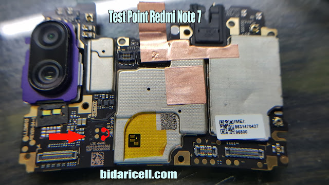 test point xiomi redmi note 7