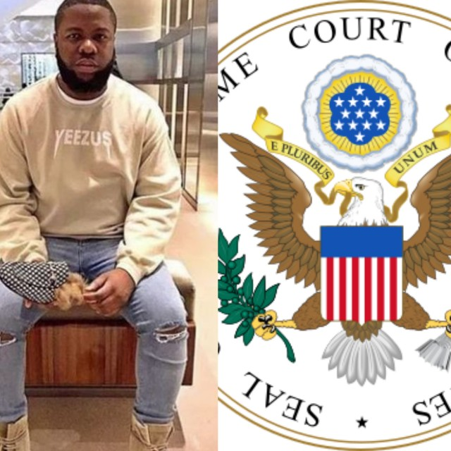 Hushpuppi Disappeared In US Supreme Court Using Black Magic (Photos and videos)