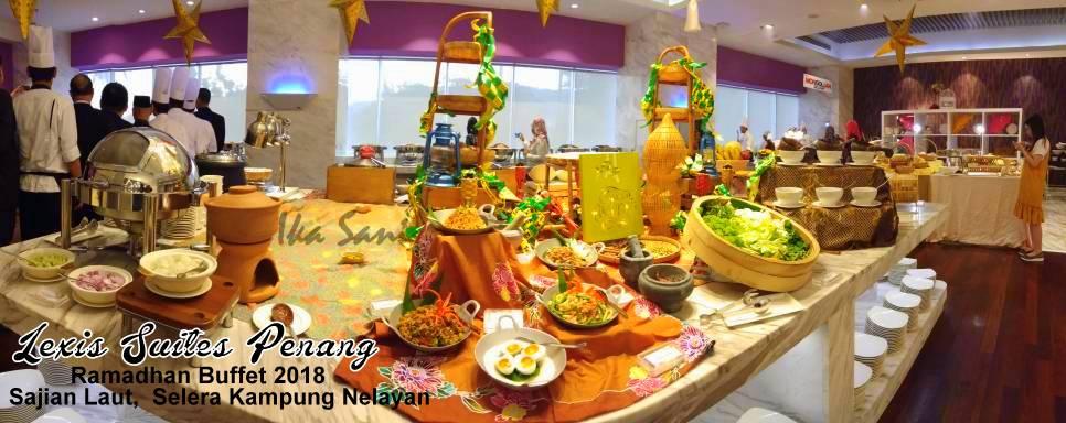 Ika Sani: Ramadhan Buffet 2018 Di Lexis Suites Penang