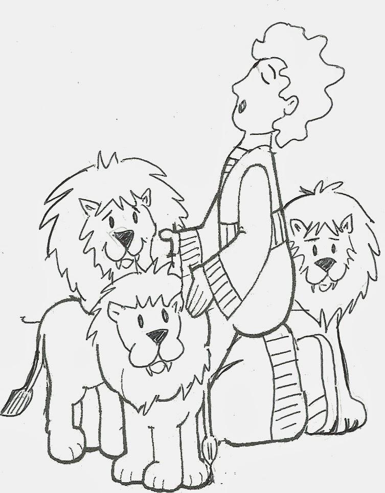 Daniel Con Los Dibujos De Leones | www.imagenesmy.com