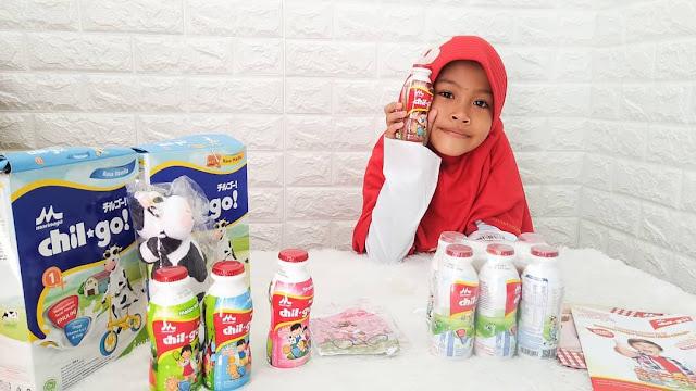 Peduli Gizi Anak Selama Pandemi Bersama Morinaga Chil*Go!
