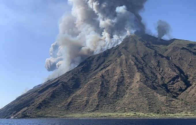 Vulcão entra em erupção, mata um italiano e deixa brasileiro ferido