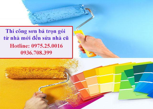 Với nhu cầu sơn sửa lại ngôi nhà cho mình để có một không gian đẹp, ấm áp. Quý khách hãy lựa chọn dịch vụ sơn nhà Hải Phòng của chúng tôi để được phục vụ tốt nhất
