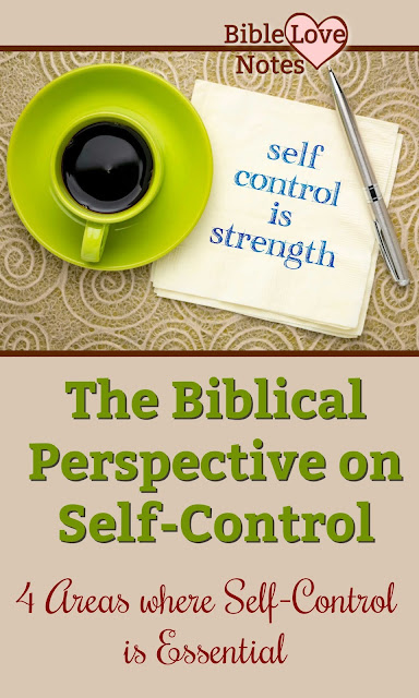 It's not popular to talk about self-control, but this 1-minute devotion explains 4 areas where self-control is life-changing.