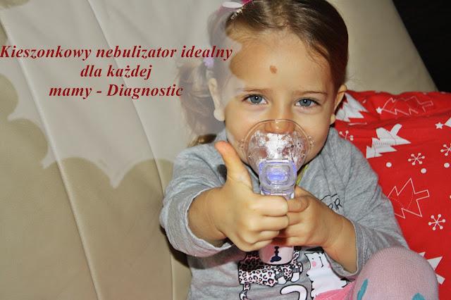 Kieszonkowy nebulizator idealny dla każdej mamy - Diagnostic