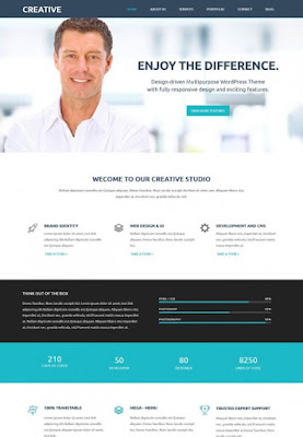 Creative – Web Design Blogger Template