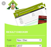 Check your Neck (external) 2017 Result Now @ mynecoexams.com