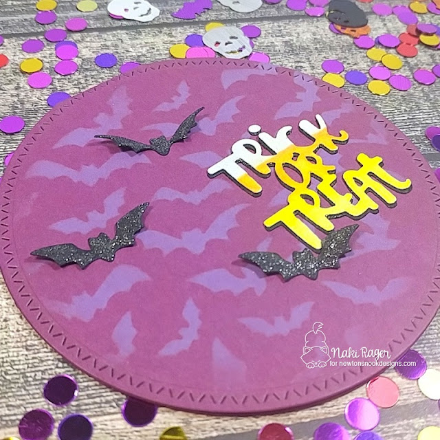 Newton's Nook Designs Halloween Trio Die Set - Naki Rager