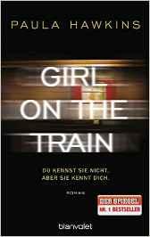 Meine Lieblingsbücher 2017 - Girl on the Train von Paula Hawkins