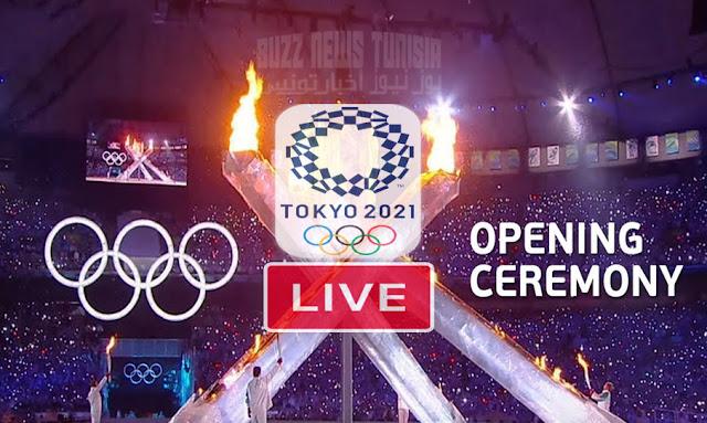 بث مباشر حفل افتتاح أولمبياد طوكيو 2020 - Tokyo Olympics 2021 Opening Ceremony Live Streaming