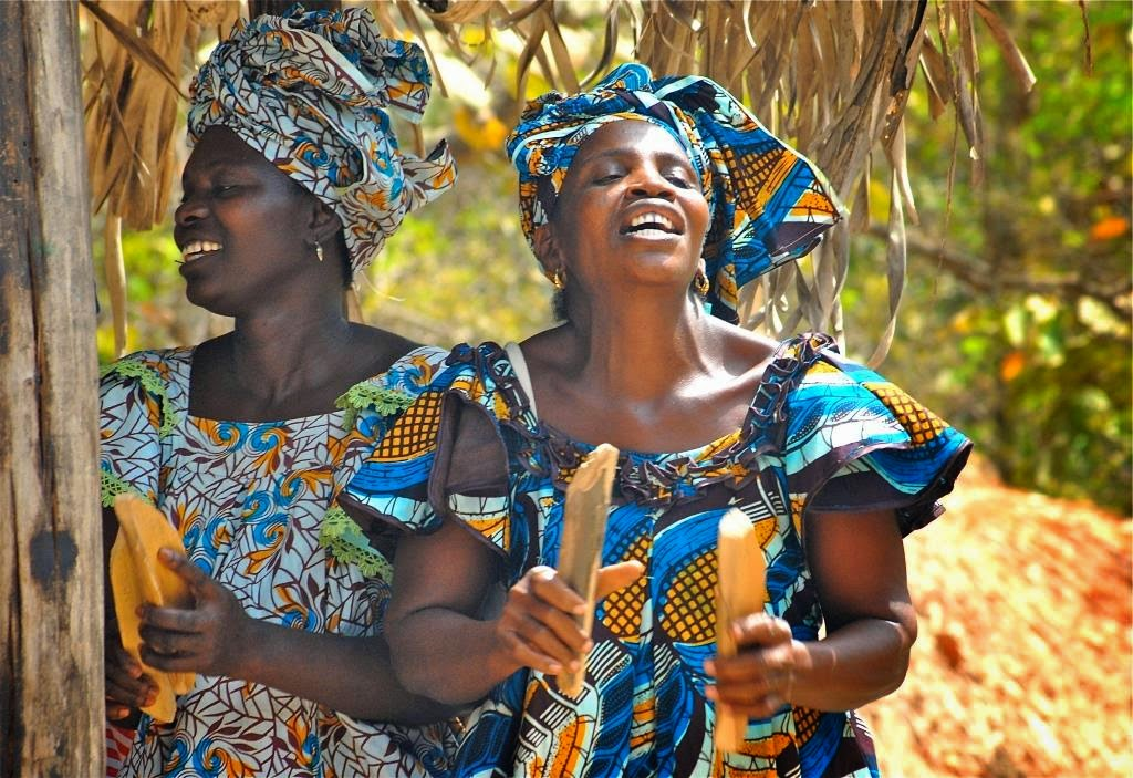 GAMBIA, HET LAND VAN DE SMILEYS