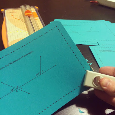 Check out these creative (and cheap!) angle ideas to help make geometry loads of fun for your middle school students.