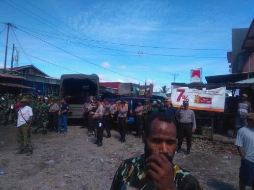 Polisi Hadang aksi dukung ULMWP di Timika