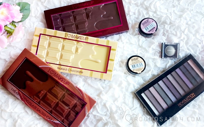 HAUL maquillaje i heart makeup revolution maybelline