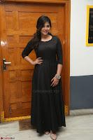 Anjali in Black Short Dress at Chitrangada Movie Success Meet ~  027.JPG