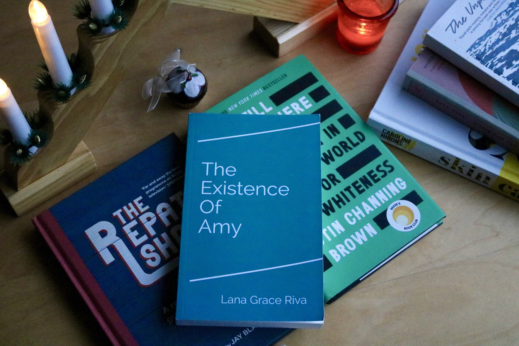 THE EXISTENCE OF AMY BY LANA GRACE RIVA BOOK
