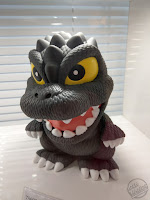 Toy Fair 2020 UK Monogram Bust Banks Godzilla