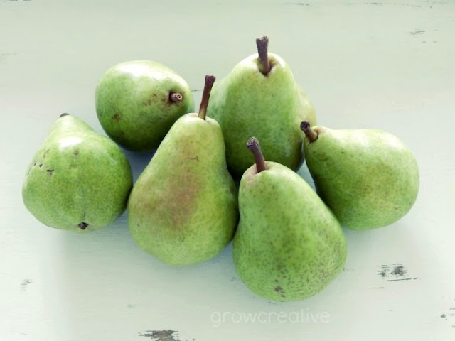Green Pears: Grow Creative Blog