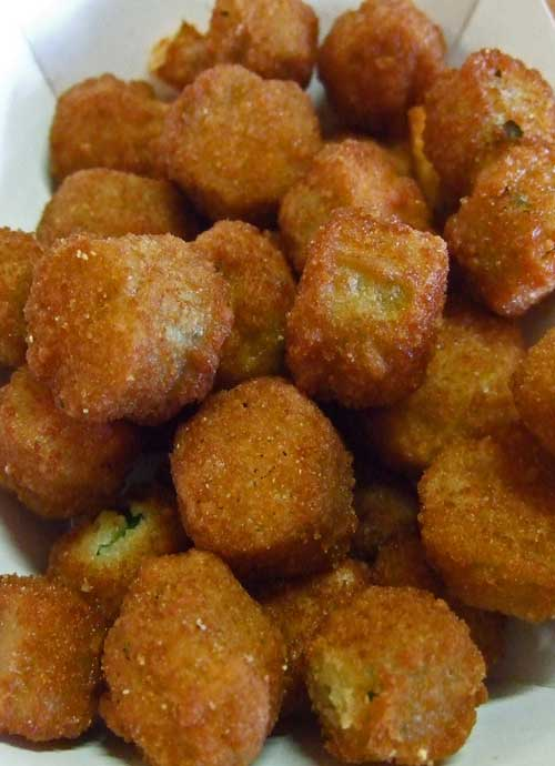 Food And Cook Southern Fried Okra