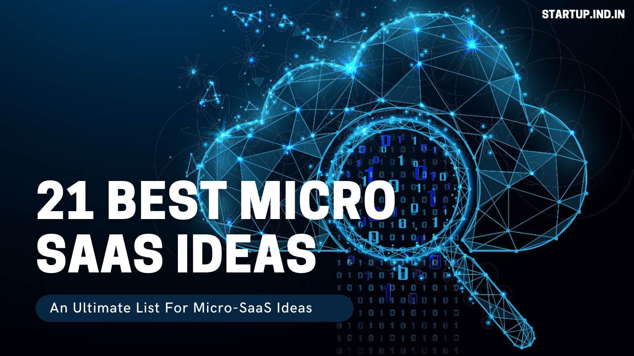 Micro Saas Ideas For 2021