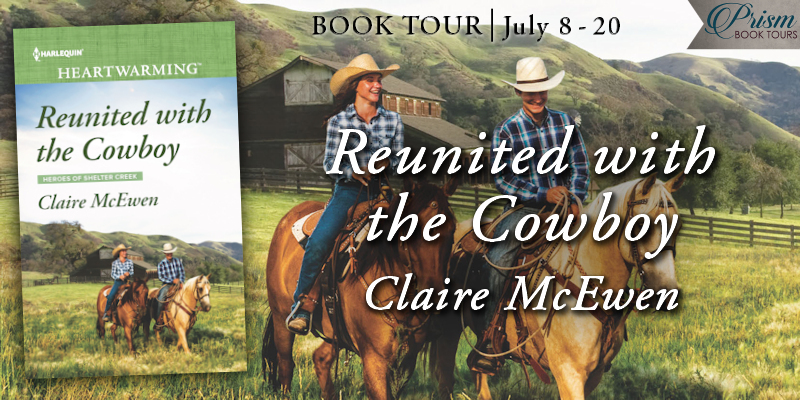 We're launching the Book Tour for REUNITED WITH THE COWBOY by Claire McEwen! #RWTCTour