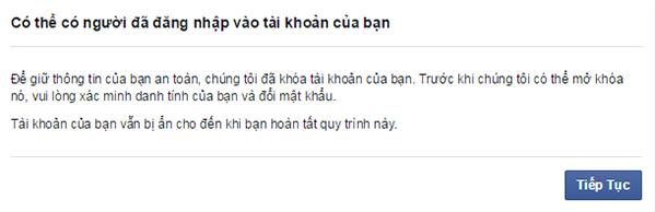mo tai khoan facebook bi khoa