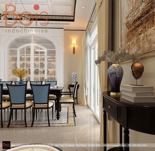 Hai phương án Thiết kế mang đậm phong cách kiến trúc Đông Dương Indochine tới chủ đầu tư Chung cư Tây Hồ Riverview.