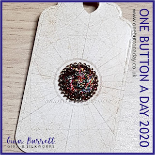 One Button a Day 2020 by Gina Barrett - Day 178 : Shine