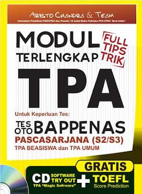 Modul TPA Oto Bappenas untuk lolos seleksi beasiswa LPDP