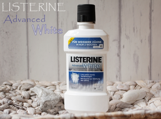 Listerine Advanced White Review