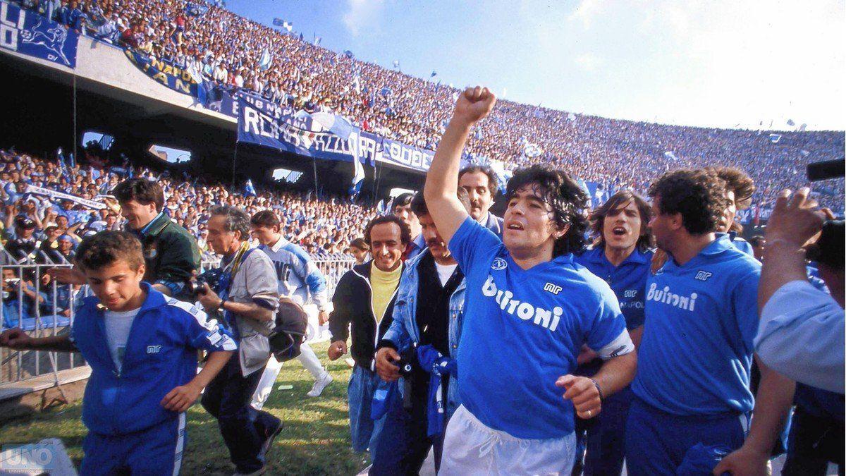 Histórico: el estadio del Napoli ahora se llamará «Diego Armando Maradona»