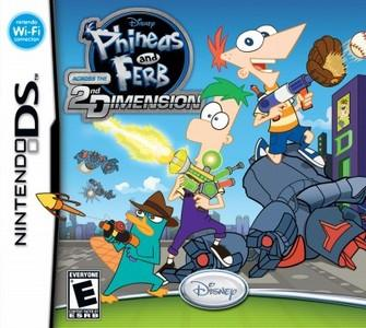 Rom Phineas and Ferb Across the 2nd Dimension NDS