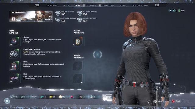 Screenshot Gameplay Marvel's Avengers