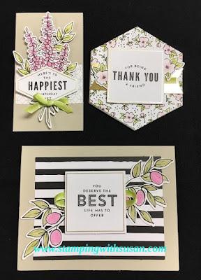 Stampin' Up! Lots of Happy Card Kit Card kits