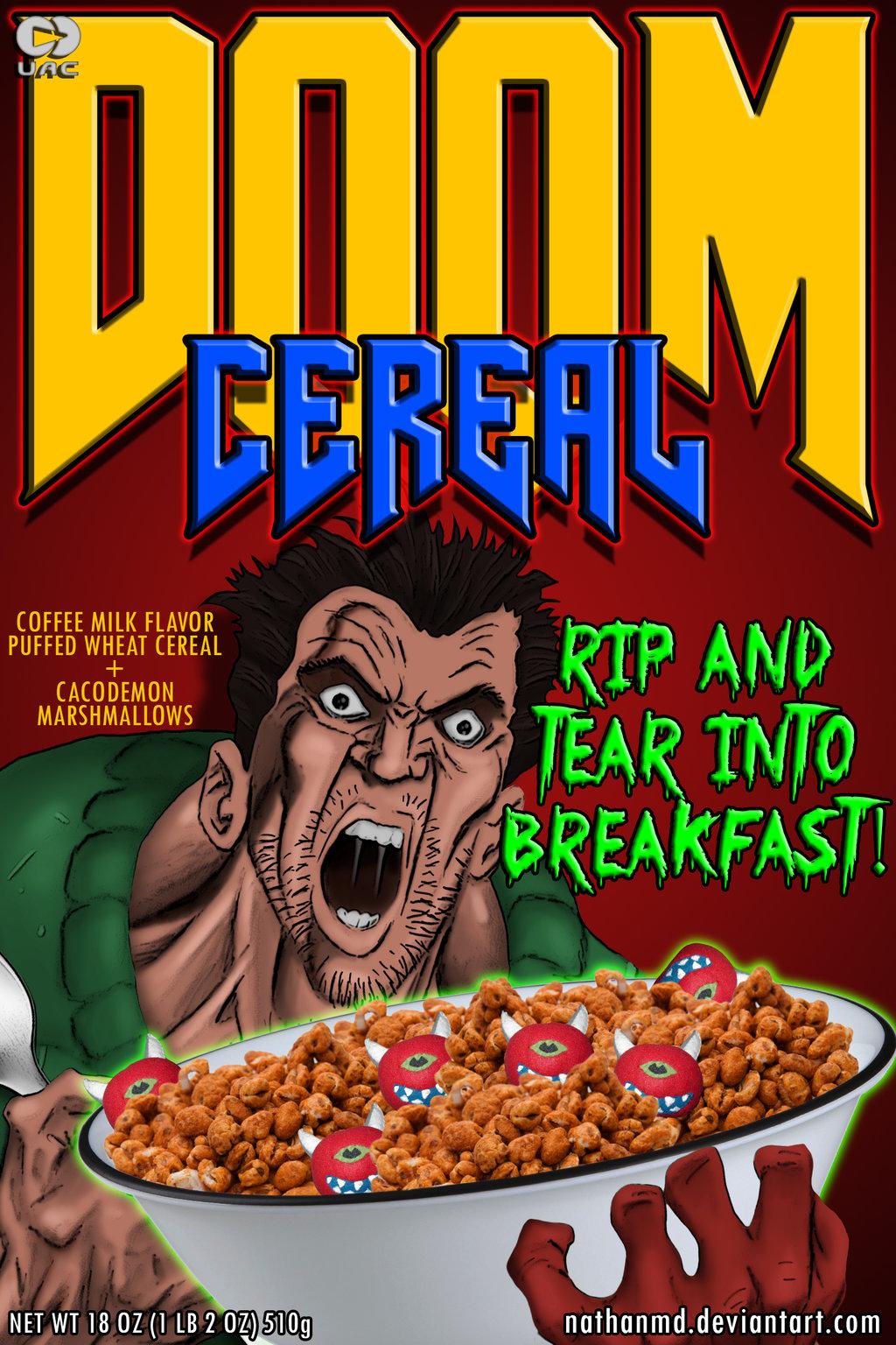 DooM Cereal