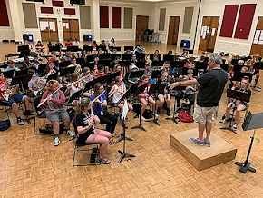 Huge Arkansas junior high music camp at UA Fayetteville welcomes 700 musicians from 5 states