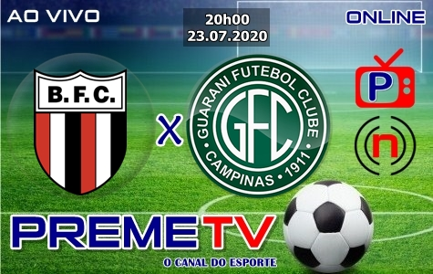 Botafogo-SP x Guarani Ao Vivo
