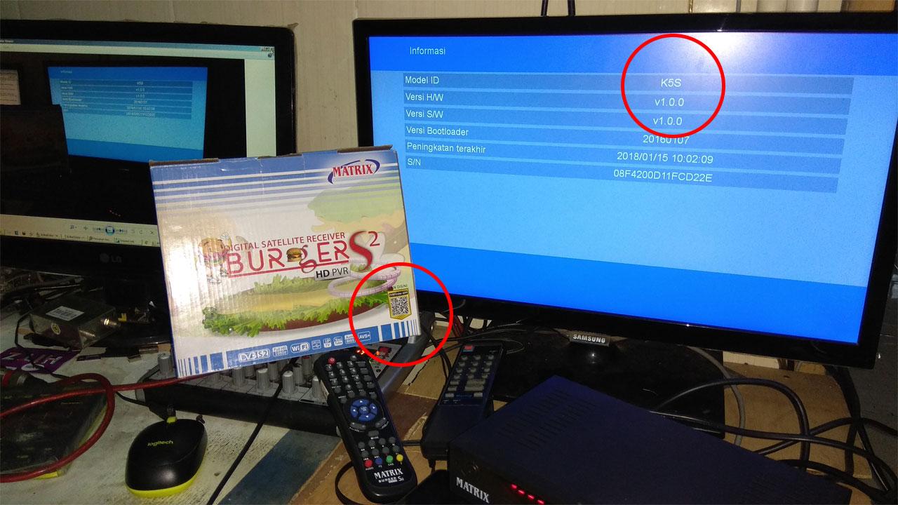 Perbedaan Matrix Burger S2 K0S dengan K5S AVS+