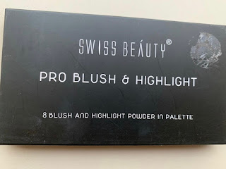 Swiss Beauty Products( Review) For Blush, Concealer, Eyeshadow