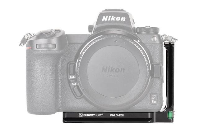 Sunwayfoto PNLO-Z6II L Bracket on Nikon Z6II B/W