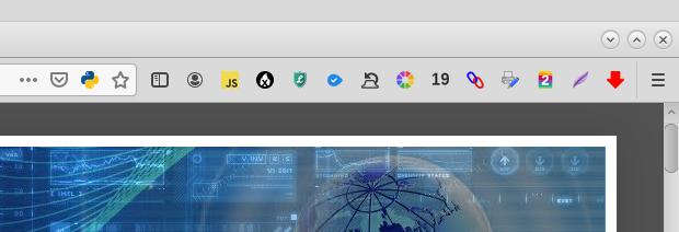 extensiones de navegador web