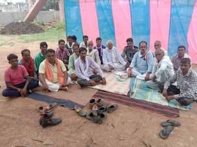 किसानों की समस्याओं को लेकर अपनी सरकार के खिलाफ कांग्रेस कार्यवाहक अध्यक्ष बैठे धरने पर | Bairad News