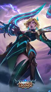 Eudora Emerland Enchantress Heroes Mage of Skins V1