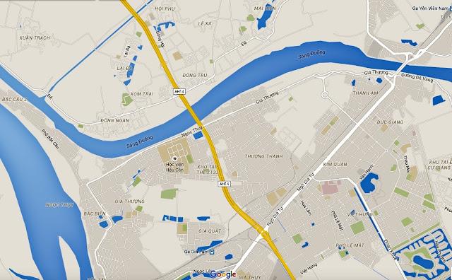 Khu đô thị Thượng Thanh quận Long Biên