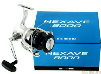 Reel Shimano Nexave 8000
