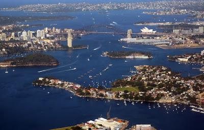 passeios de helicóptero em Sydney