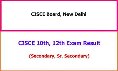 CISCE ISC ICSE 10th 12th Class exam result