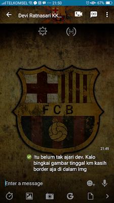 BBM Mod Barcelona Mod Apk terbaru